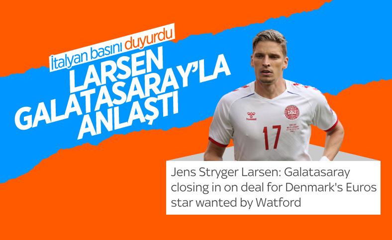 Sky Sports İtalia: Larsen Galatasaray'la anlaştı