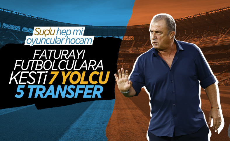 Galatasaray'da mağlubiyetin faturası oyunculara kesildi