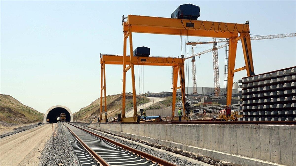 Çerkezköy-Kapıkule hızlı tren hattındaki çalışmalar Bulgaristan sınırına yaklaştı #2