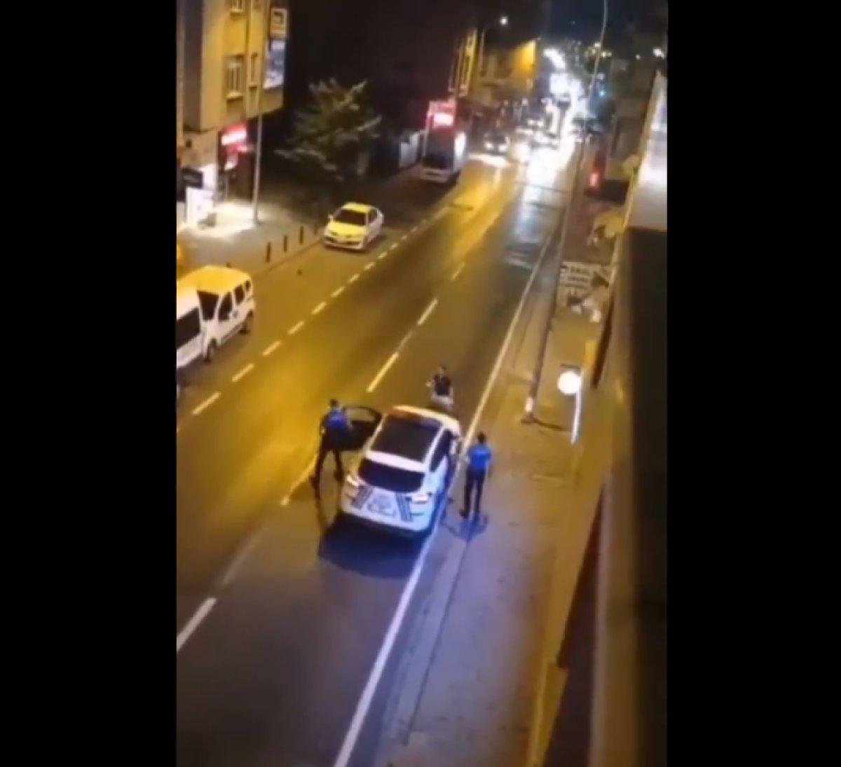 Ümraniye de annesini bıçakladı, polise saldırdı  #6
