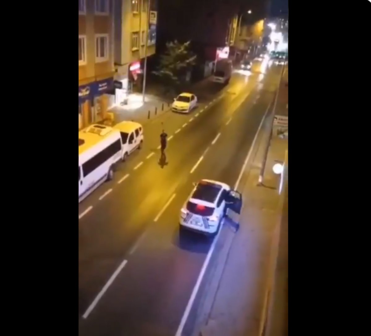 Ümraniye de annesini bıçakladı, polise saldırdı  #1