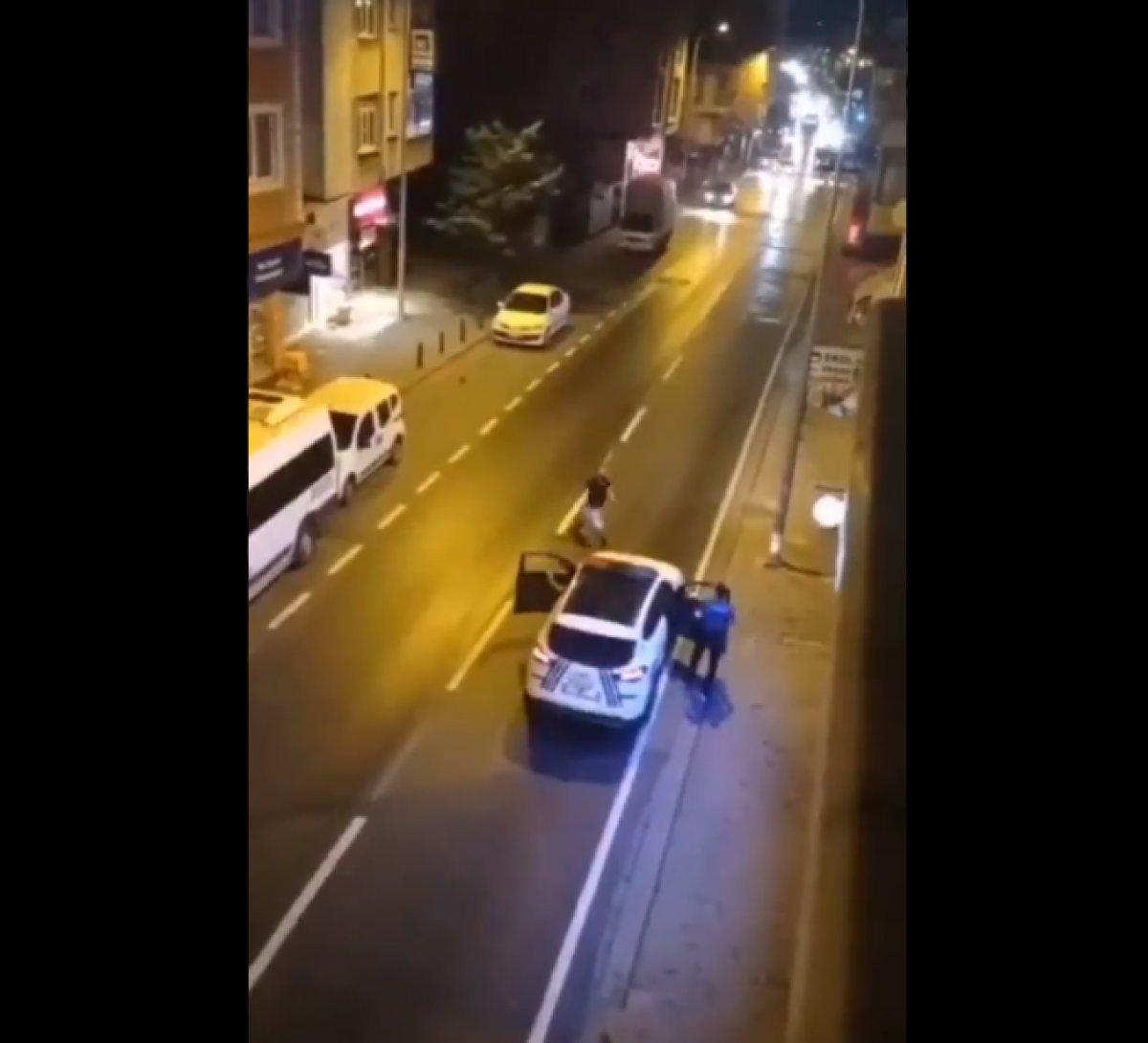 Ümraniye de annesini bıçakladı, polise saldırdı  #2