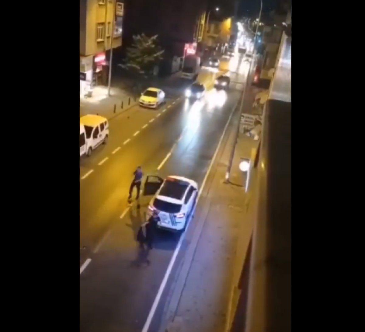 Ümraniye de annesini bıçakladı, polise saldırdı  #5