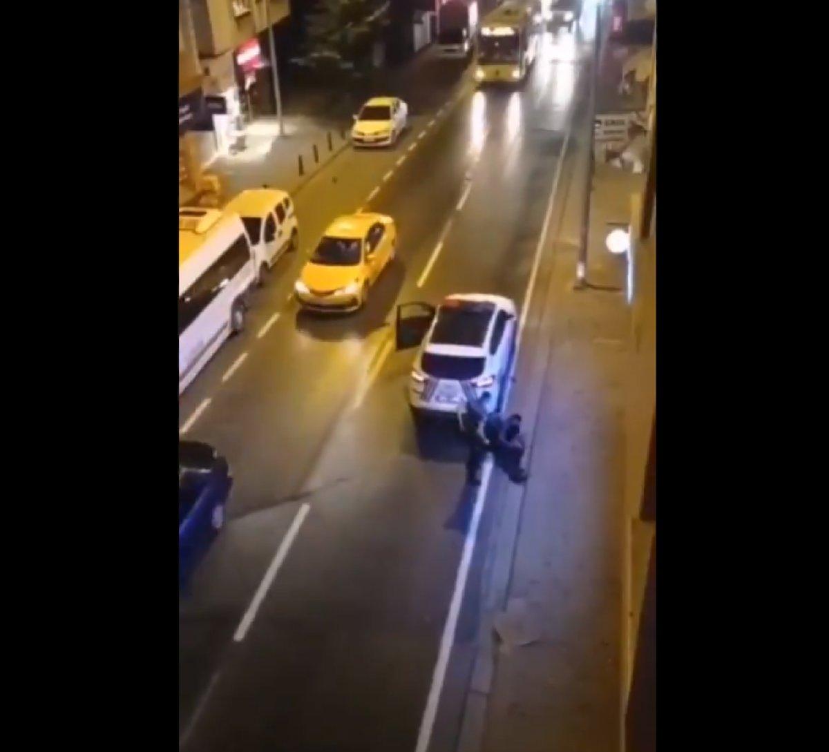 Ümraniye de annesini bıçakladı, polise saldırdı  #4