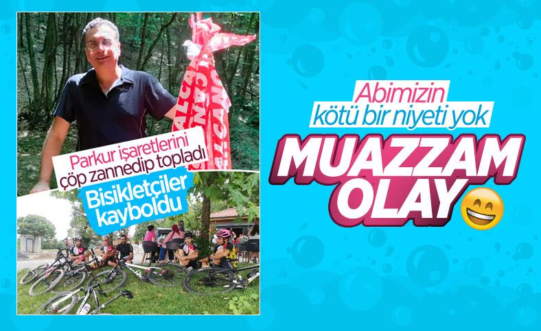 İstanbul'da doktorun çevreci eylemi sonrası sporcular kayboldu
