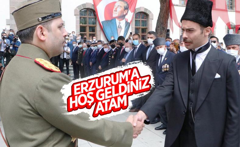 Erzurum Kongresi'nin 102'nci yıl dönümü kutlandı