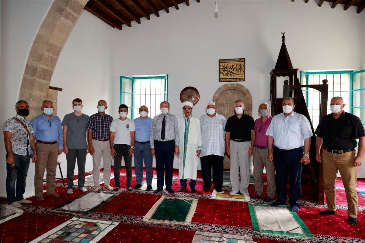 Kapalı Maraş taki Bilal Ağa Mescidi'nde 47 yıl sonra ilk cuma namazı #2