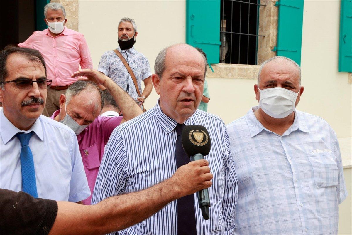 Kapalı Maraş taki Bilal Ağa Mescidi'nde 47 yıl sonra ilk cuma namazı #3