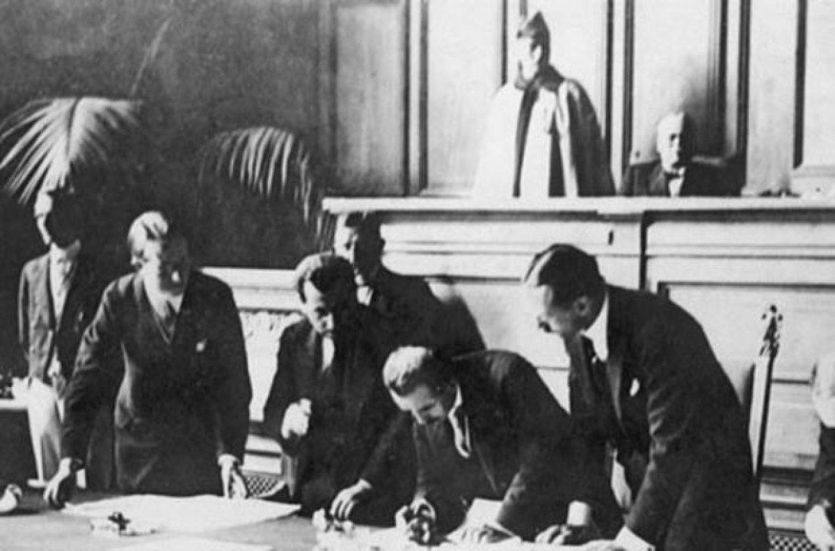 Lozan Antlaşması 98 yaşında #1