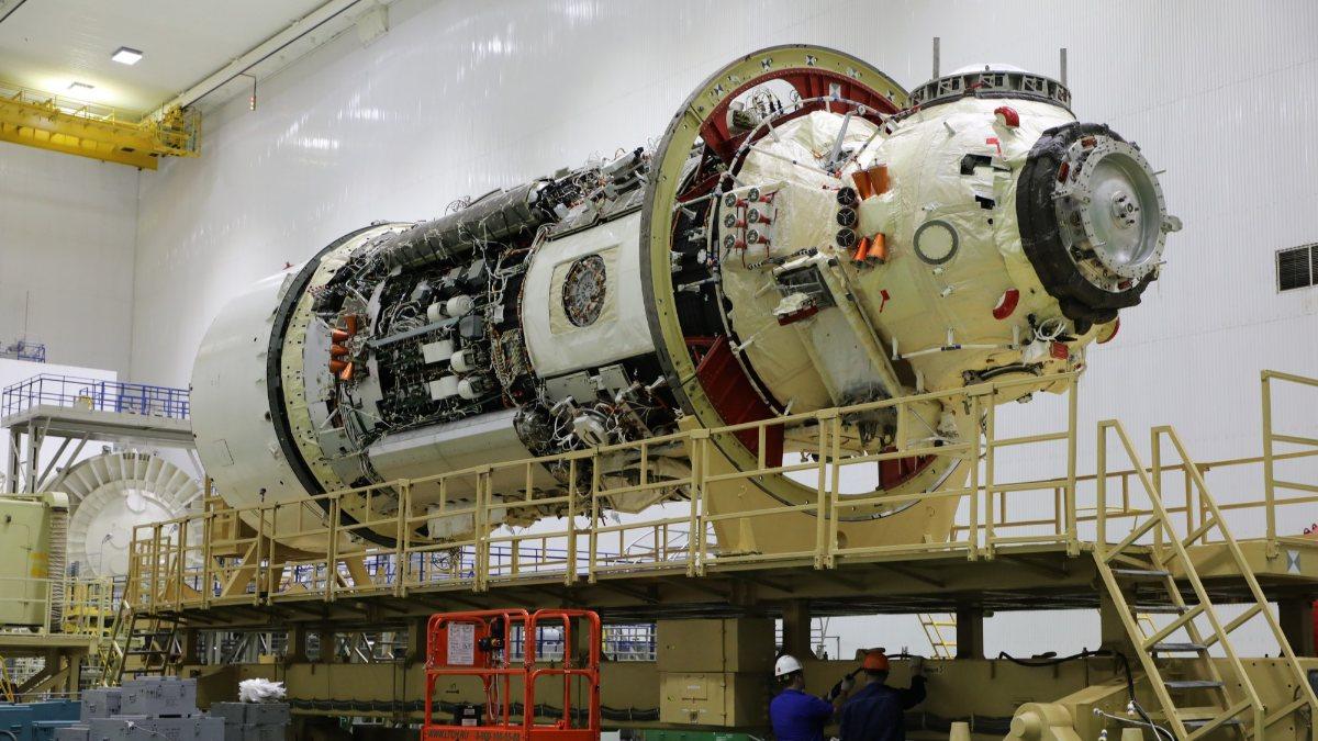 Rusyanın en büyük uzay laboratuvarı istasyona fırlatıldı