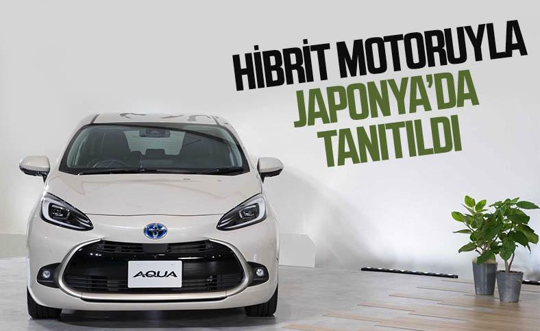 2022 Toyota Aqua, hibrit motor seçeneğiyle tanıtıldı