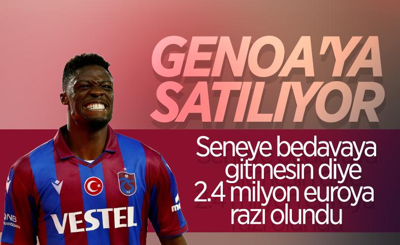 Genoa ile Trabzonspor, Ekuban için anlaştı