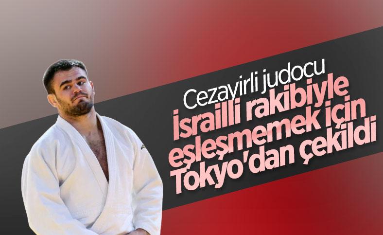 Cezayirli judocu, İsrailli rakibiyle eşleşmemek için çekildi