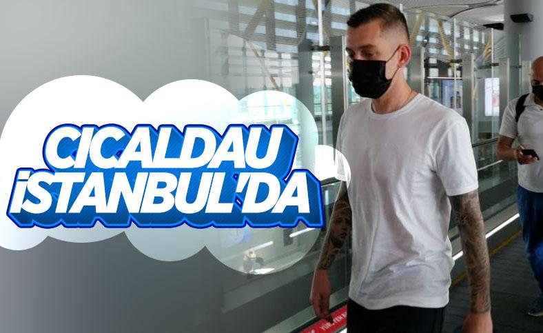 Alexandru Cicaldau İstanbul'a geldi