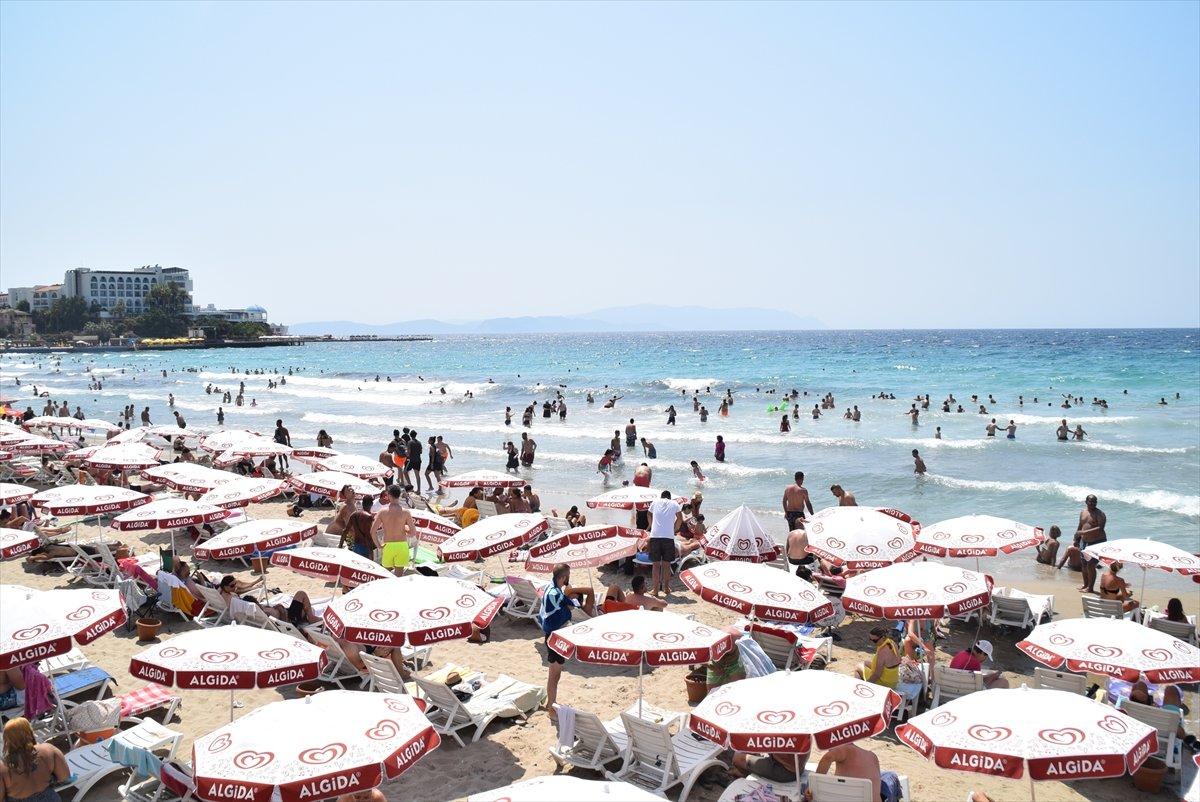 Ege Bölgesi nde plajlar doldu taştı  #11