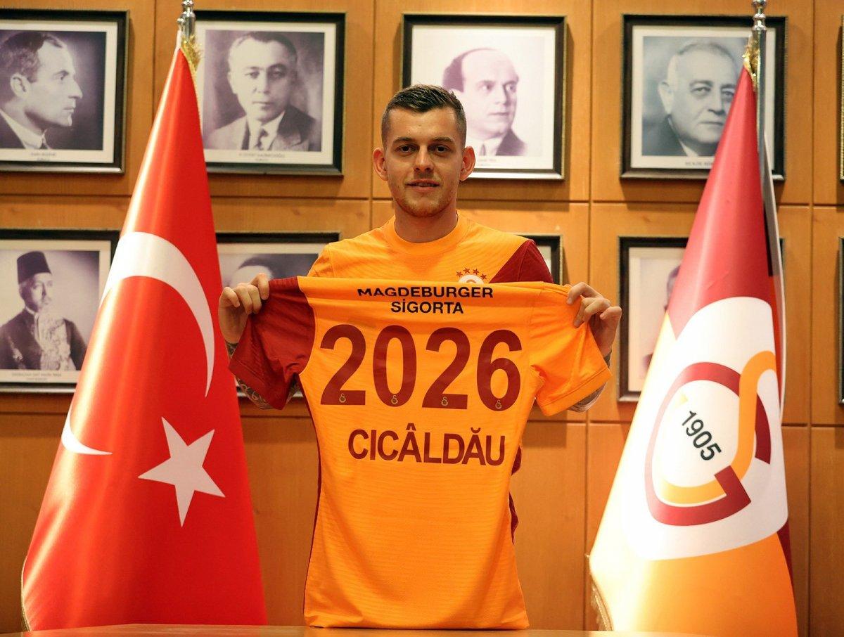 Galatasaray, Alexandru Cicaldau yu açıkladı  #2