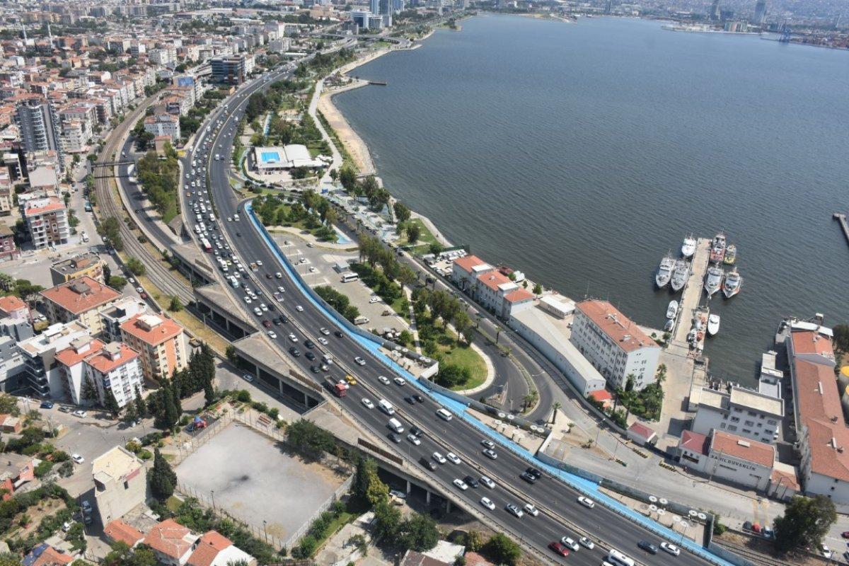İzmir de trafiğe helikopterli denetim #4