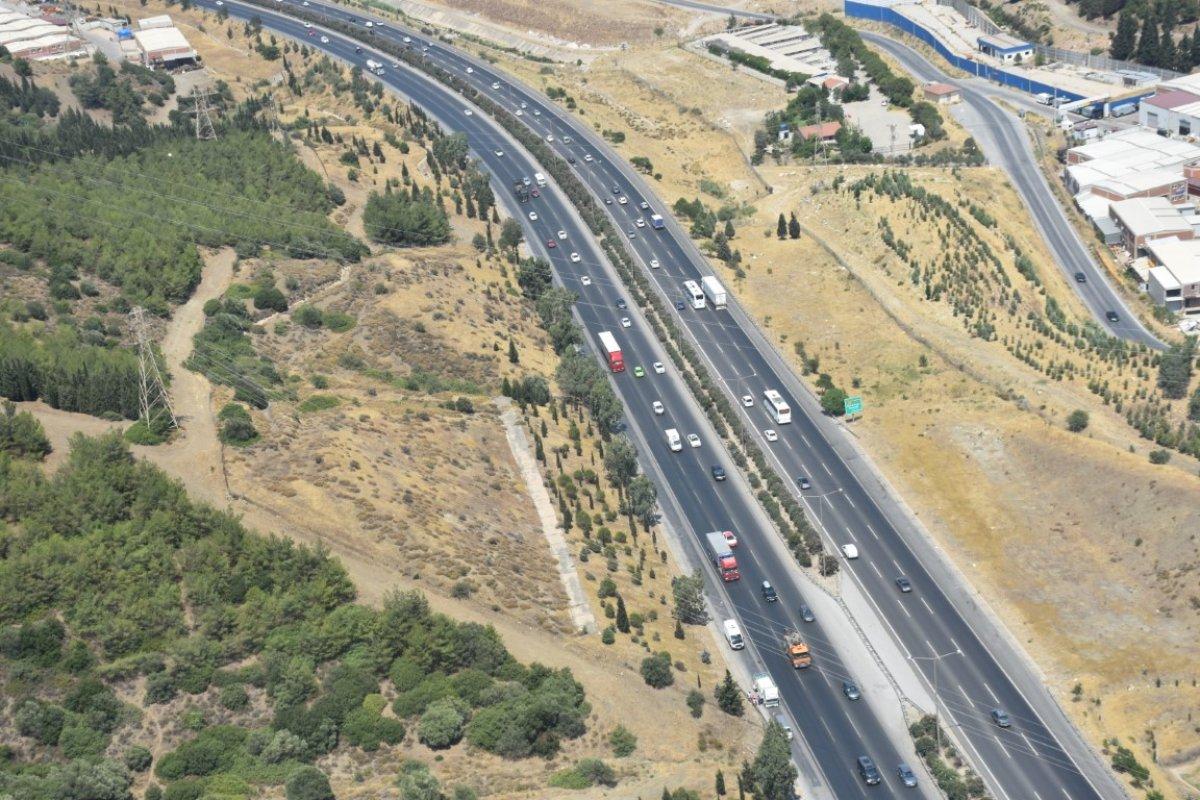 İzmir de trafiğe helikopterli denetim #2