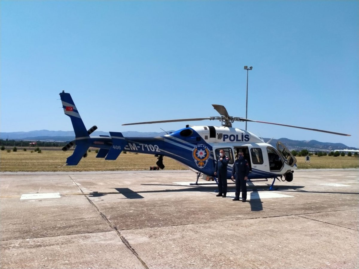 İzmir de trafiğe helikopterli denetim #1