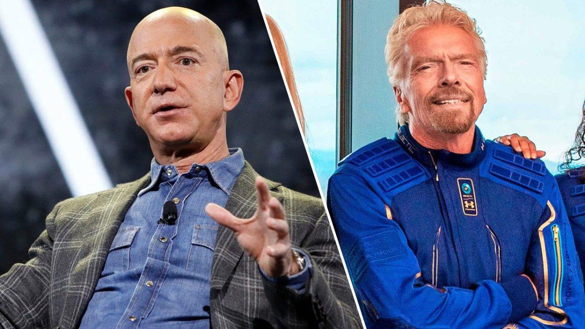Uzaya çıkan Jeff Bezos ve Richard Branson, astronot unvanı alamayacak