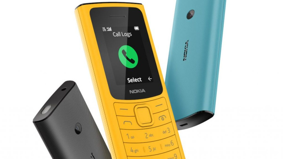 Nokiadan bir tuşlu telefon daha: Nokia 110 4G