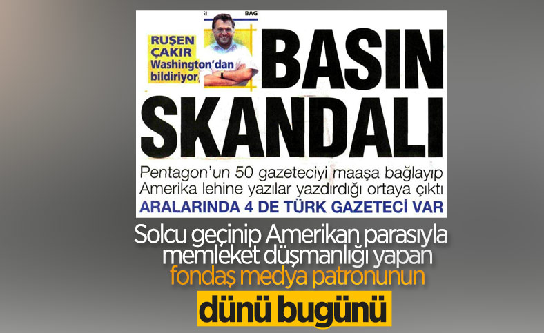 Arşivden çıkan Ruşen Çakır imzalı Basın Skandalı haberi