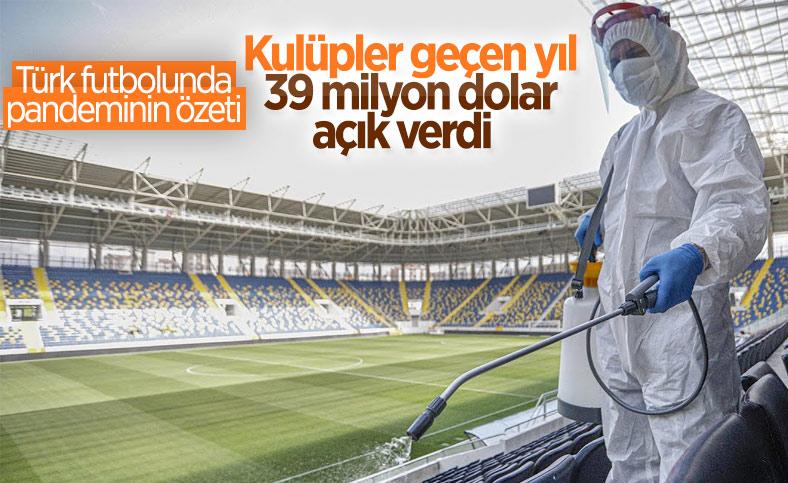 Türk kulüpleri salgından ekonomik anlamda kötü etkilendi