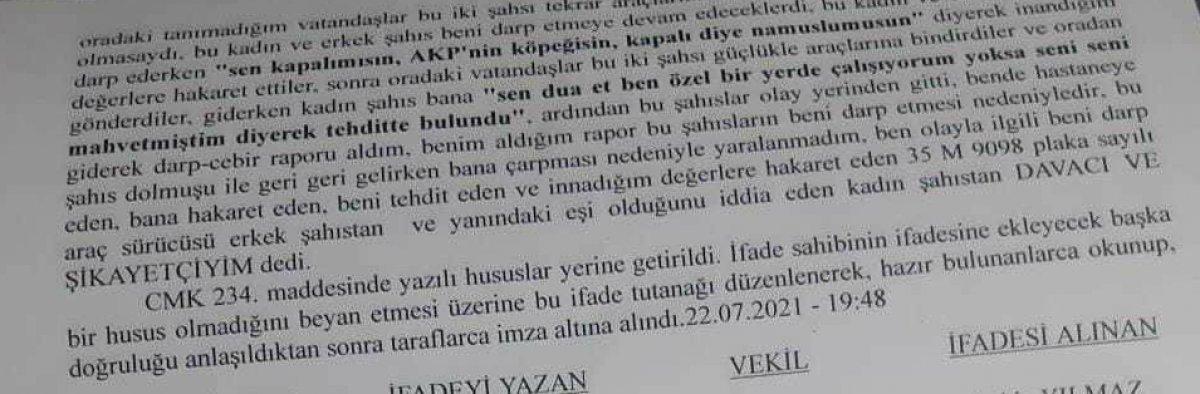 İzmir'de başörtülü genç kıza saldırı: 2 şüpheli gözaltına alındı #2