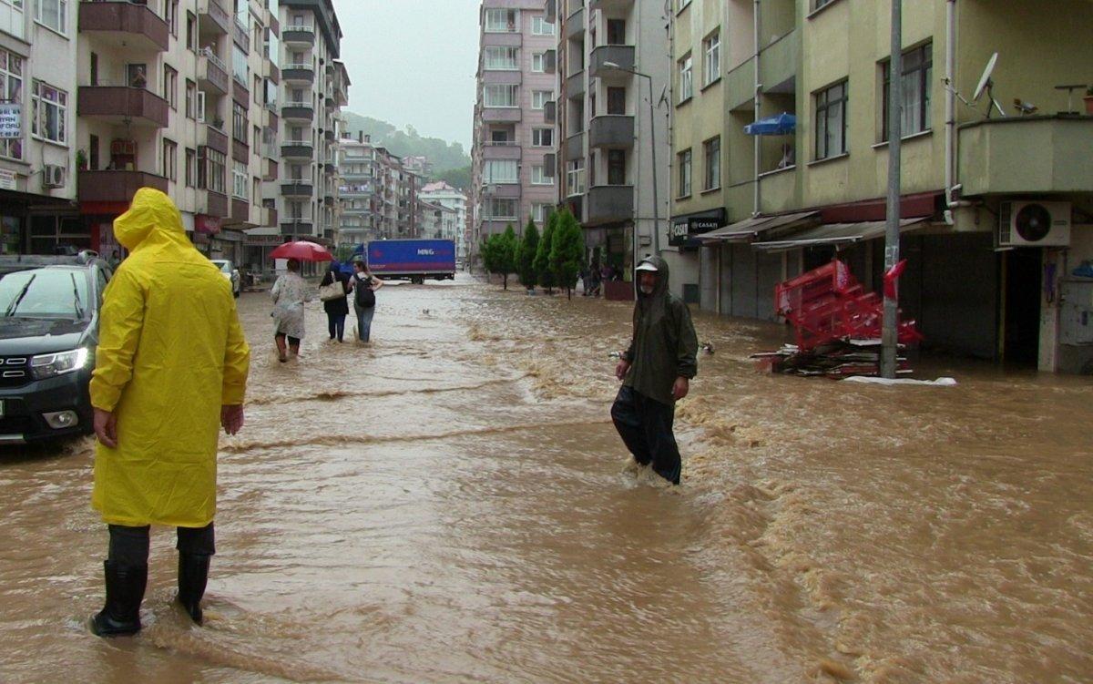 Artvin de sokaklar yine göle döndü #2