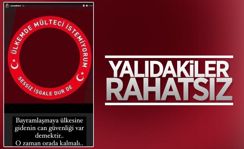 Arzu Sabancı, Suriyelilerin Türkiye'de bulunmasından rahatsız