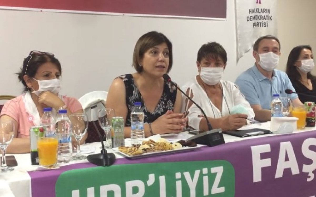 Meral Danış Beştaş: Kürtler AK Parti ye güvenmedikleri için aşı olmuyor #1