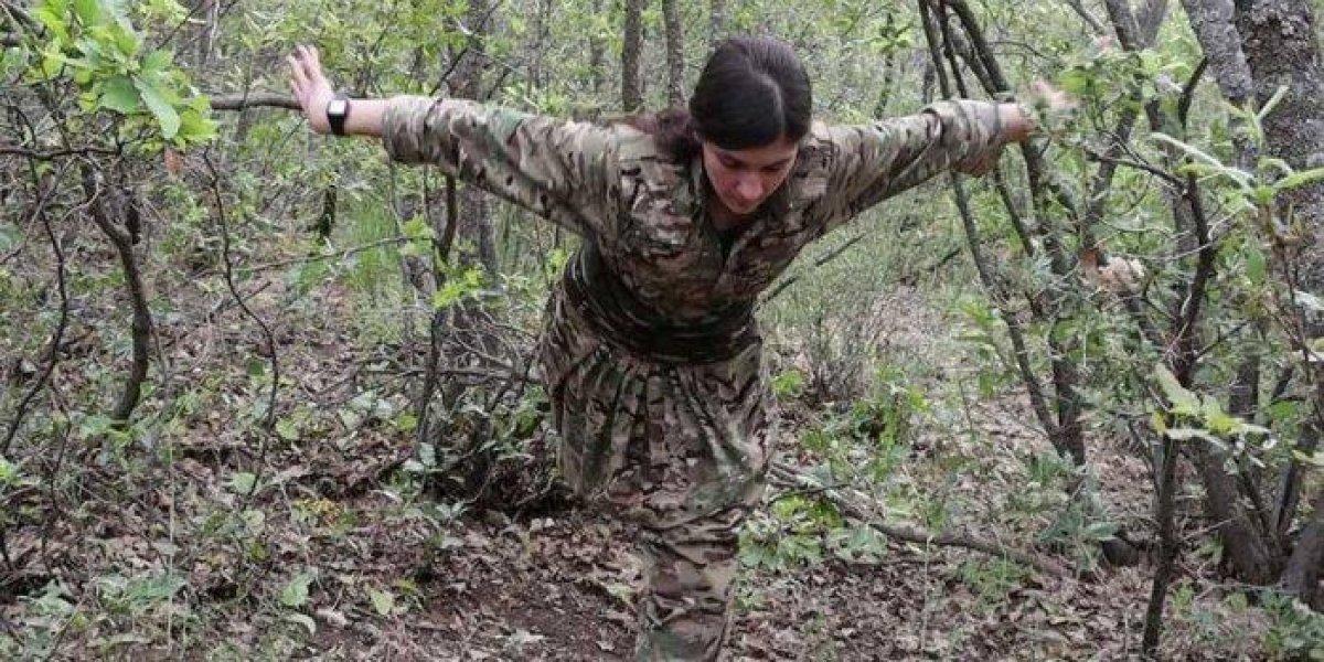 Terör örgütü PKK nın İzmirli balerini #1