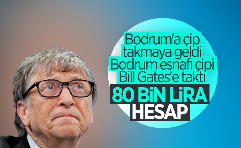 Bill Gates'e Bodrum'da dudak uçuklatan hesap