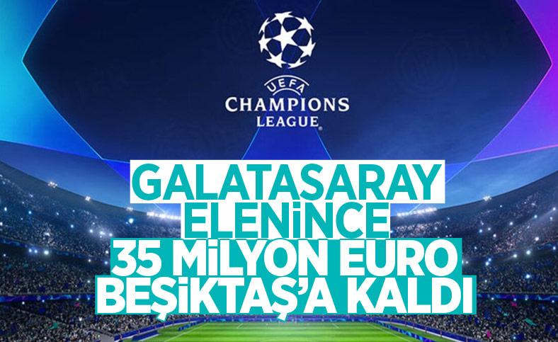 Beşiktaş'ın Şampiyonlar Ligi'nde kasasına girecek para