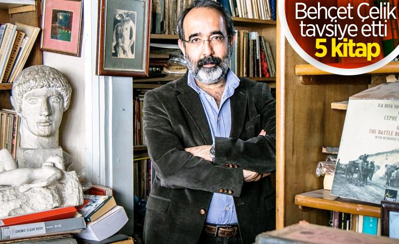 Yazar Behçet Çelik'ten gençlere öneri kitaplar