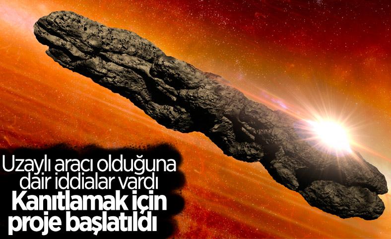 Harvard, Oumuamua'nın uzaylı teknolojisi olduğunu kanıtlamaya çalışacak