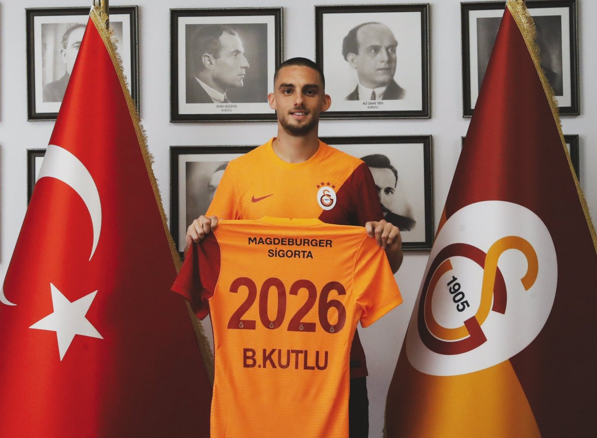 Galatasaray Berkan İsmail Kutlu yu borsaya bildirdi #1
