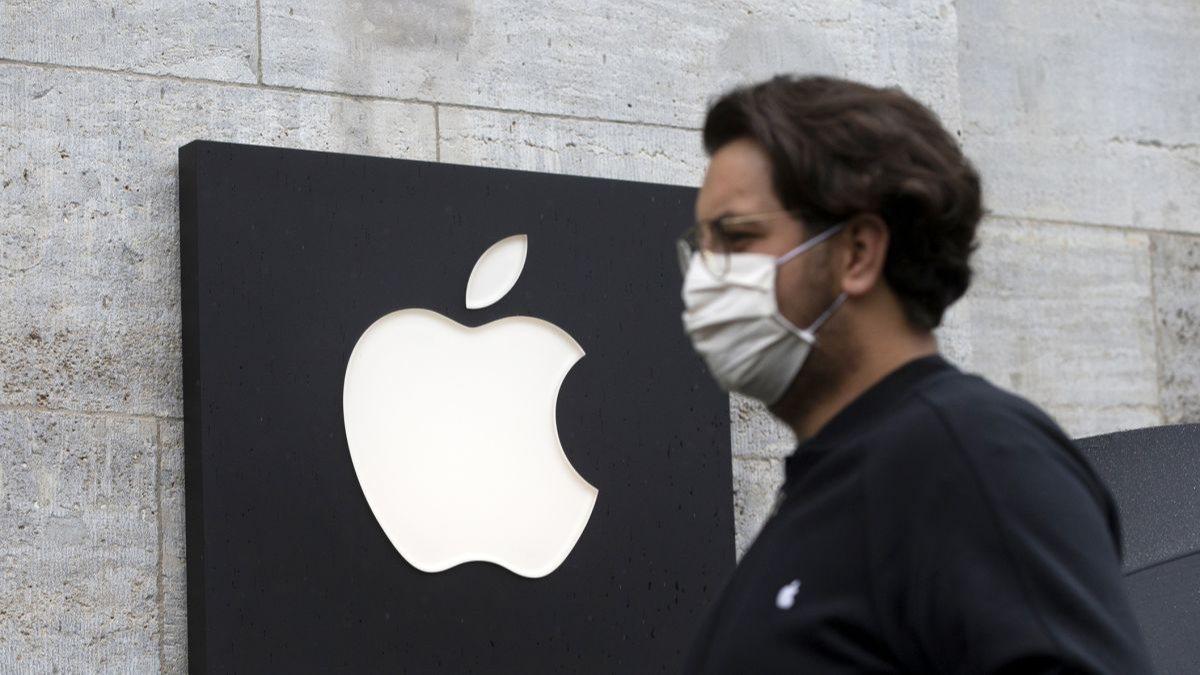 Apple, çalışanlarına maske zorunluluğu getirdi