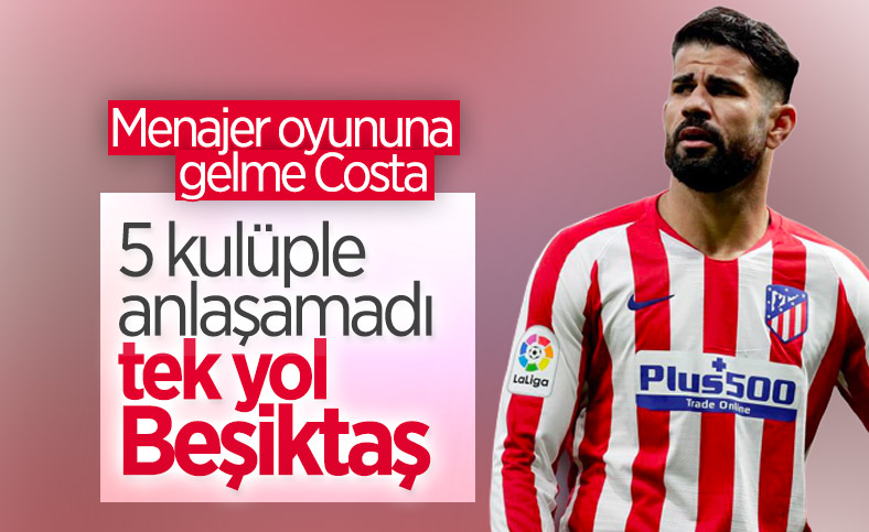 Diego Costa için en yüksek teklifi veren Beşiktaş