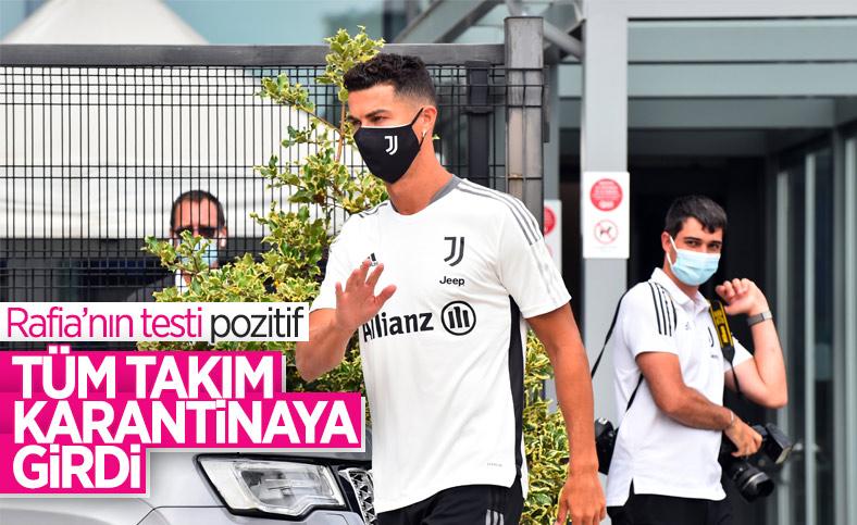Juventus, koronavirüs nedeniyle karantinaya girdi