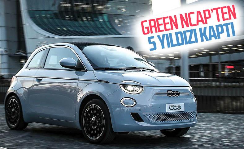 Yeni Fiat 500, Green NCAP'ten 5 yıldız aldı
