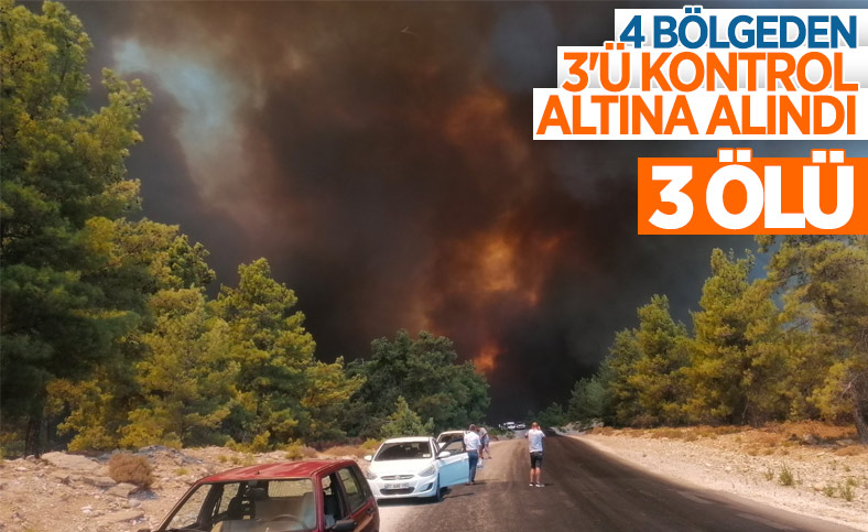 Manavgat'taki yangının bilançosu