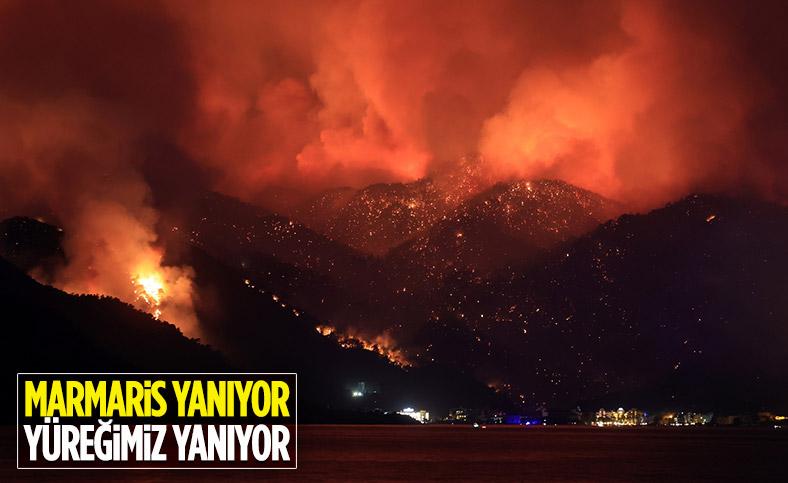 Marmaris'teki yangında can kaybı