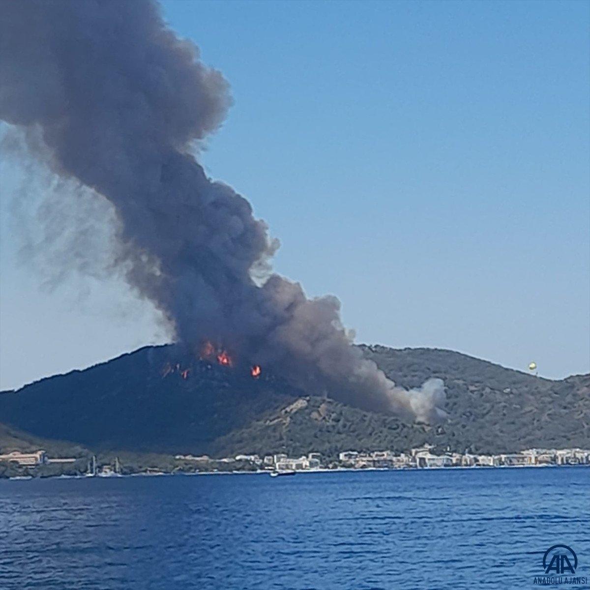 Marmaris te orman yangını #7