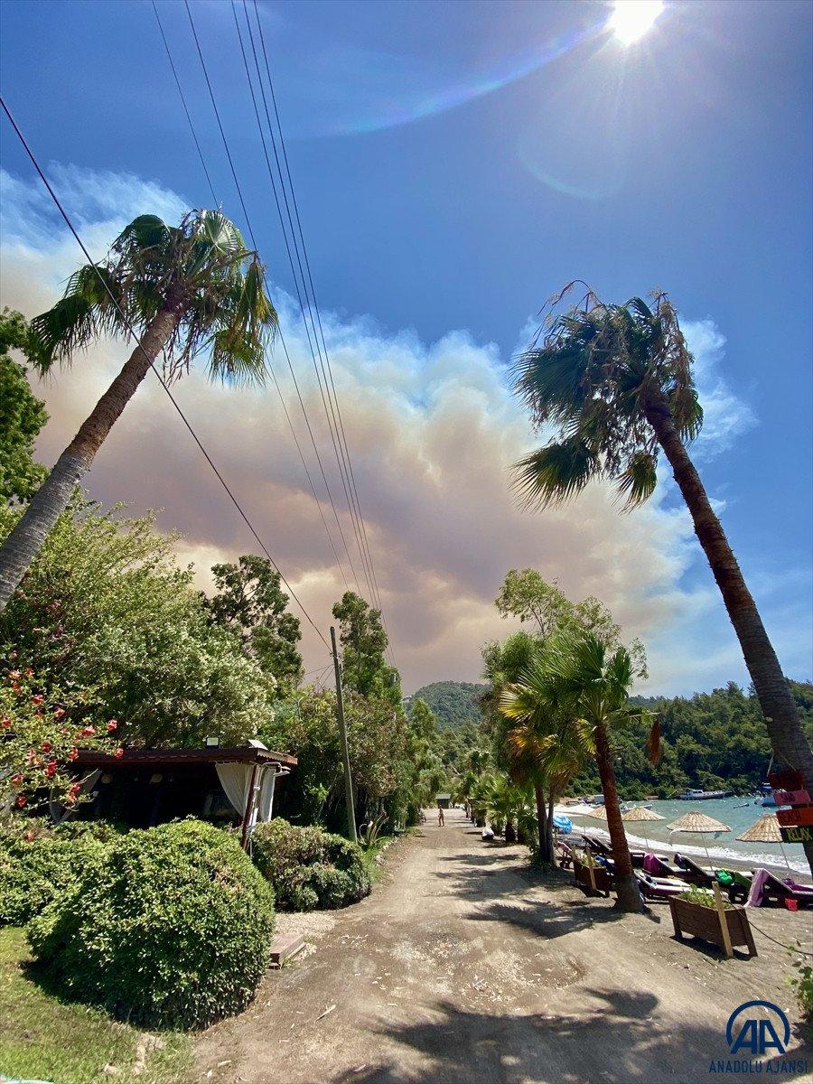 Marmaris te orman yangını #9