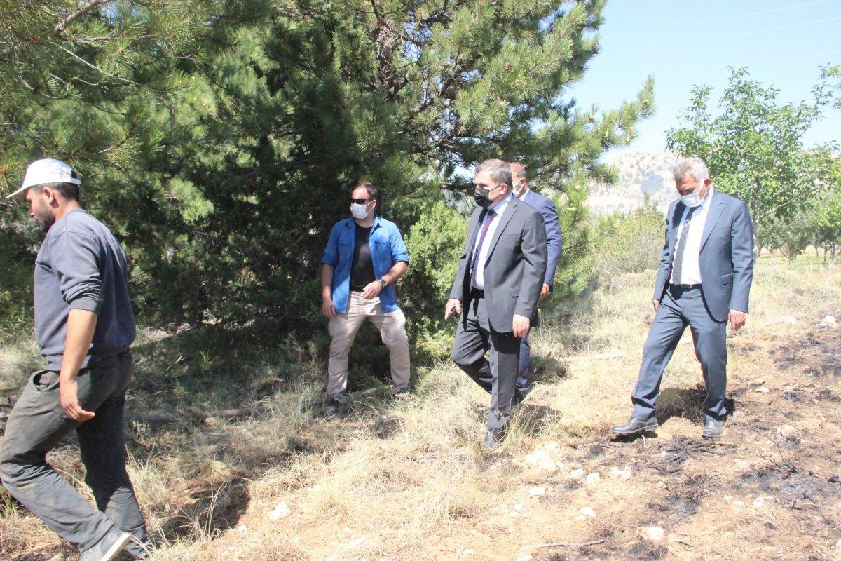 Karaman'da orman yangını #9