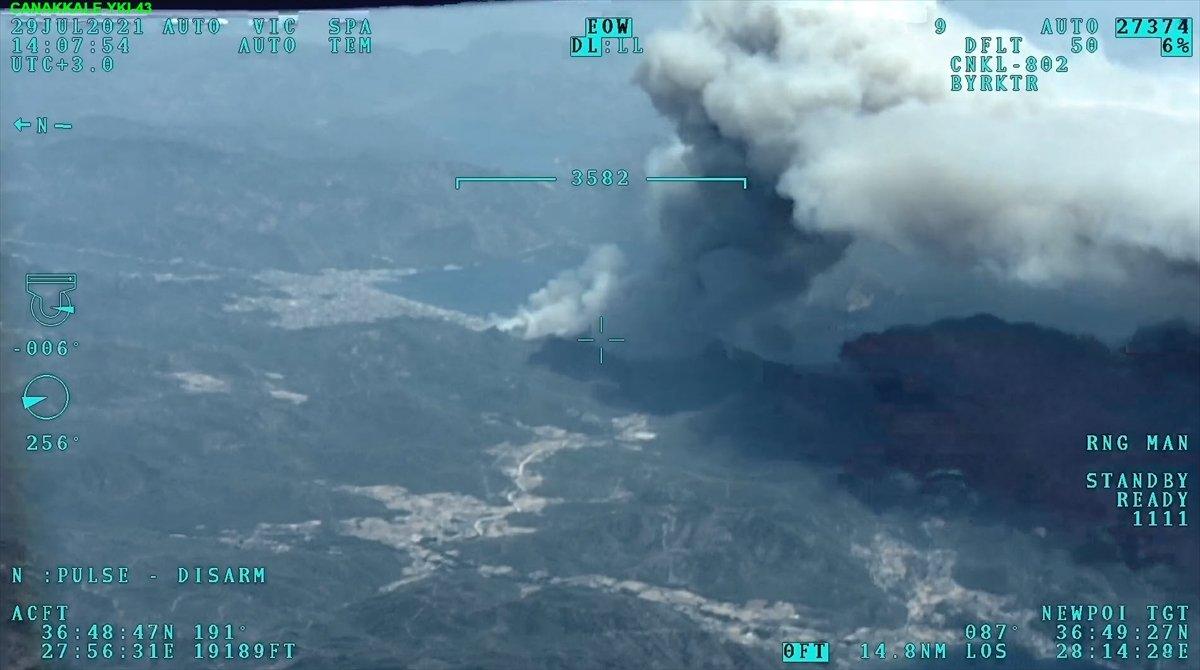 Marmaris te orman yangını #19