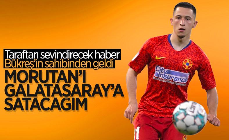 Steaua Bükreş'in sahibi Becali: Morutan'ı Galatasaray'a satacağım