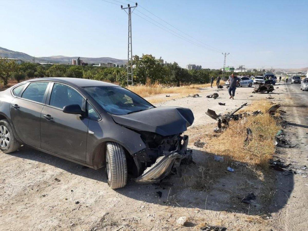 Gaziantep te trafik kazası: 4 yaralı  #1