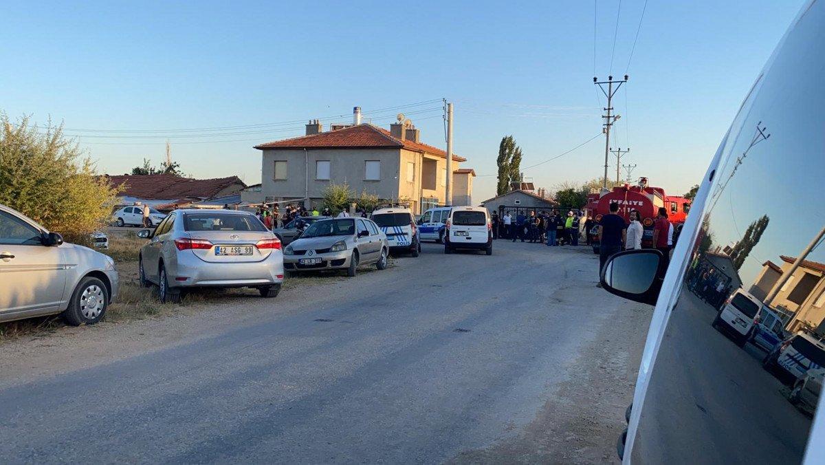 Konya da bir eve silahlı saldırı düzenlendi #5